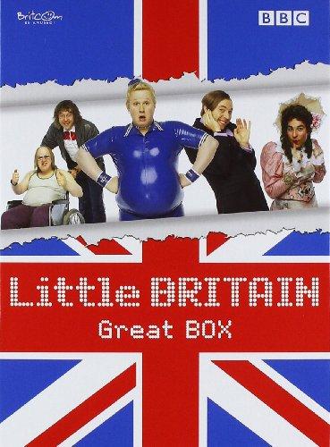 """Little Britain – Great BOX (Die komplette Serie mit den Staffeln 1-3 + Specials """"Abroad"""" und """"Live"""") [8 DVDs]"""