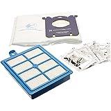 Electrolux USK1 Accessoires Aspirateur S-Bag Ultra Long Performance 4 Sacs + 1 Filtre Hepa + 1 Filtre Moteur + 1 Boîte de 4 Parfums