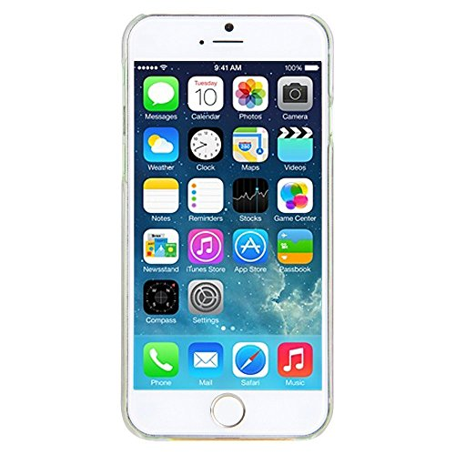 nnopbeclik iPhone se 55S Liquido per cellulare trasparente Custodia trasparente lucido 3d e glitter star stelle liquido con liquido Custodia Bumper Cover Case Custodia trasparente Crystal Case Custod lilla