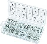 KS Tools 970.0430 - Juego de tornillos para aglomerado (550 unidades)