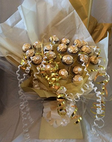 gold-personalised-ferrero-rocher-sweet-chocolate-bouquet-hamper