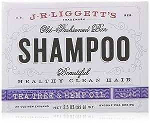 J.R. Liggetts Bar Shampoo, Tea Tree Oil, 3.5 Oz