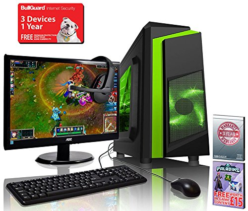 Admi Gaming Pc Package With Monitor Keyboard Amp Mouse