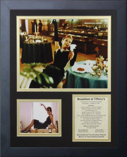 Legenden Sterben Nie Breakfast at Tiffany 's gerahmtes Foto Collage, 11x 35,6cm