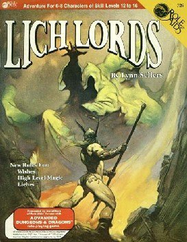 Lich Lords (Role Aids/Advanced Dungeons and Dragons) by Lynn Sellers (1985-01-01)