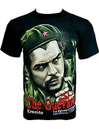 Rock Chang T-Shirt * Che Guevara * La Legende Cuba * Noir R601