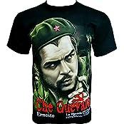 Rock Chang T-Shirt * Che Guevara * La Legende Cuba * Schwarz R601