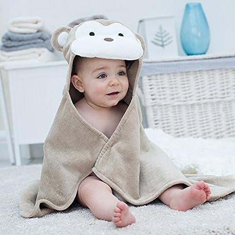 Bain Lapins Singe Serviette de bébé à