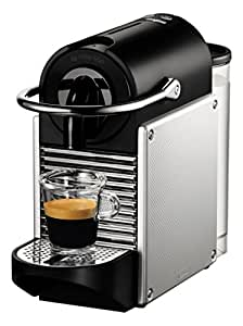 Nespresso Pixie Coffee Machine, Aluminium by Magimix