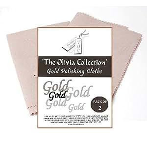 SC24 - TOC 2 Chiffons pour Nettoyer et Faire Briller les Bijoux en Or
