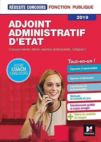 Réussite Concours - Adjoint Administratif d'Etat - Catégorie C - 2019 - Préparation complète par Denise Laurent