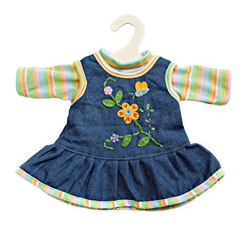 Heless 510 Peppiges Kleid mit T-Shirt, Größe 35 - 45 cm