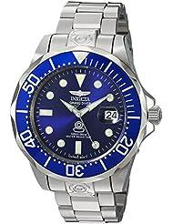Invicta Herren-Armbanduhr XL Automatik Edelstahl 3045
