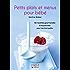 Petit livre de - Petits plats et menus pour bébé