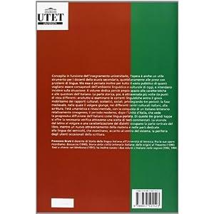 L'italiano. Elementi di storia della lingua e dell