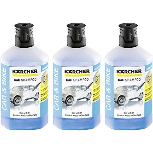 Kärcher RM 610 Autoshampoo 3-in-1 1000ml, 3er Pack (3 x 1000ml)