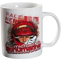 Porcelana i ceramika Michael Schumacher Tasse Jubiläum 20 Jahre