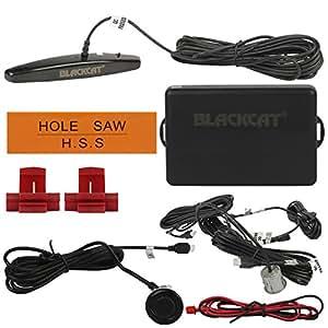 Blackcat Reverse Parking Sensor LED Display On Dashboard (Black)