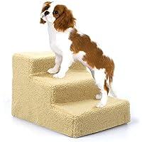 amzdeal–Easy Step Perros Escaleras, 45x 35x 30cm, color beige