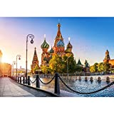 alles-meine GmbH Puzzle 500 Teile - Saint Basil's Cathedral , Moscow - Basilius Kathedrale Mo..