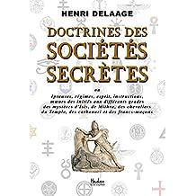 Doctrines des Sociétés Secrètes