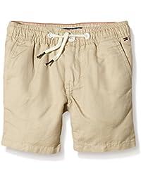Tommy Hilfiger Havana Chino - Short para niño, color Gris (Safari 271), 8 años