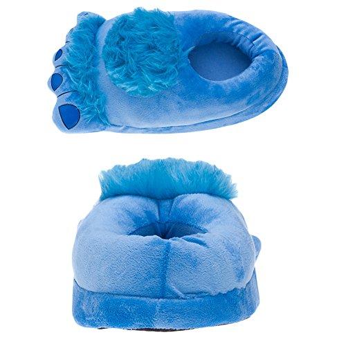 Unisex Big Feet Plüsch Warm Baumwolle Hausschuhe, Puschen Plüsch Hausschuhe Pantoffeln Kostüme Tierhausschuhe Geschenkidee - ()