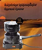 GYD elektronischer Kohleanzünder Shisha Kohle (Schwarz) -
