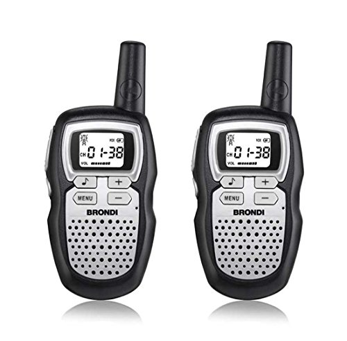 Brondi FX-COMPACT SPORT+ 8channels 446-446.1MHz Black, Silver two-way radio - Two-Way Radios (Professional mobile radio (PMR), 8 channels, 446-446.1, 5000 m, AAA, Alkaline)