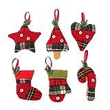 Tinksky Ornamento d'attaccatura per decorazioni di albero di Natale per decorazione natalizia Regalo di compleanno di...