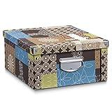 Aufbewahrungsbox Pappe L Patchwork 17648 Aufbewahrungskiste