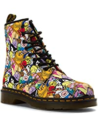 Dr.Martens Womens Castel Toon 8 Eyelet Textile Boots