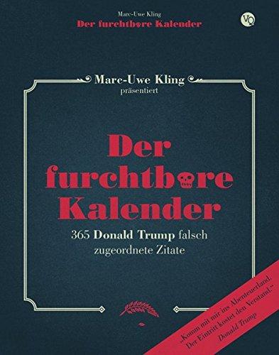 Buchseite und Rezensionen zu 'Der furchtbare Kalender' von Marc-Uwe Kling