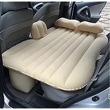 ibigbean Heavy Duty hinchable colchón coche cama para SUV camioneta colchón asiento trasero extendida, beige