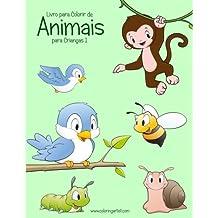 Livro Para Colorir De Animais Para Crianças: 1