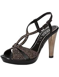 PHIL GATIER by REPO, Chaussures à brides Femme - Noir / Marron, 40 EU