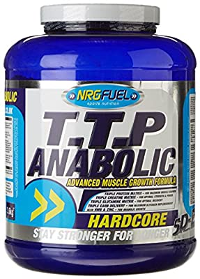 NRG Fuel 3.6 kg Banana TTP Anabolic Supplement