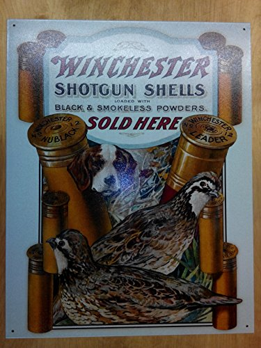 winchester-dog-quail-cartel-de-chapa-placa-metal-plano-nuevo-31x40cm-vs813-1