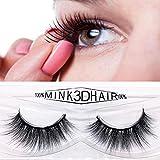YanHoo Großes Paar! 10 Paar Mode Natürliche Handgemachte Lange Falsche Schwarze Wimpern Make-Up Heiß Wimpern