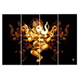 #6: Ray Décor's Multiple Sparkling Radha-Krishna Wall Painting - 4 Frames (61x91.5 Cm)- Wall Decor/ Wall Decals/ Wall Hangings/ Home Decor/ Gift Items