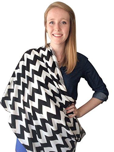 kiddo-sciarpa-multifunzione-per-allattamento-colore-nero-e-bianco