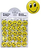1 x Ansteckbutton Smilie ca. 50mm, Button, Anstecker, Smily Smiley