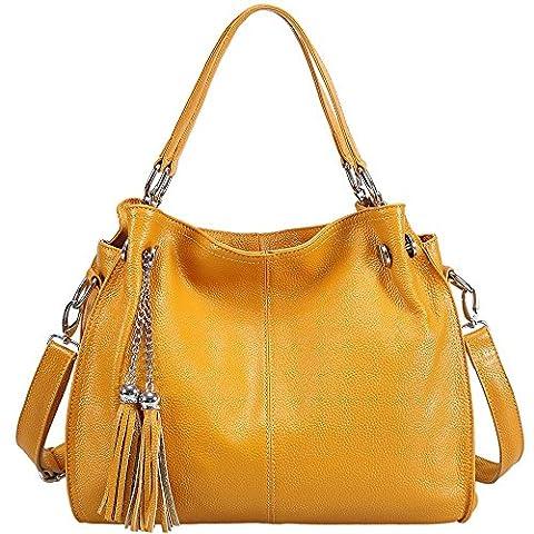 Sonyabecca Sonyabecca, Sac pour femme à porter à l'épaule, jaune