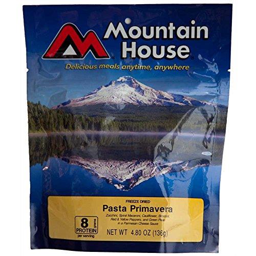 Mountain House Gefriergetrockneter Pasta Primavera Rucksackreisen, Camping oder Notfall Abendessen/Mahlzeit-Zwei 10oz Portionen