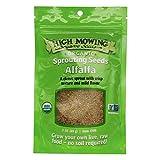 High Mowing Organic Seeds Semillas orgánicas de alta siega - Semillas de germinación orgánica Alfalfa - 3 oz.