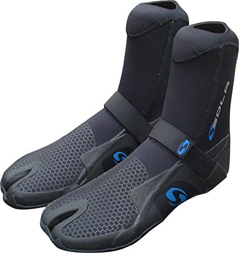 Sola System 5mm Split Toe Boot, unisex, A1282-044-01, schwarz / blau, UK 10/EU 44 Preisvergleich