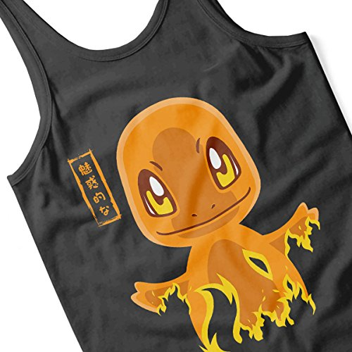 Pokemon Charmander Men's Vest Black