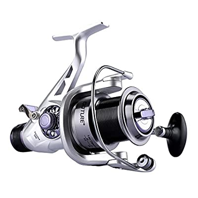 Goture Carp Fishing Reels Front and Rear Drag Spinning Reel with Aluminum Far Casting Spool for Coarse Game Fishing from Goture