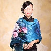 Autunno Inverno Womens Fashion eleganza Super Morbida sciarpa scialle Europa Street (Scialle Pattern Maglia)