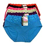 #8: Tescos Life Care ladies Panty set of 6 Multi color Size Medium